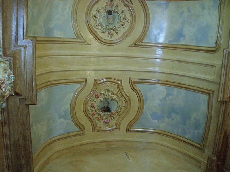 Begijnhof Diest - kapel infirmerie - plafond