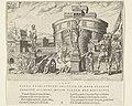 Belegering van de Engelenburcht, 1527 Overwinningen van Karel V (serietitel) Divi Caroli. V. imp. opt. max. victoriae, ex multis praecipuae (serietitel), RP-P-1936-144.jpg