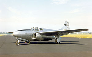 Bell P-59B Airacomet at the National Museum of the United States Air Force.jpg
