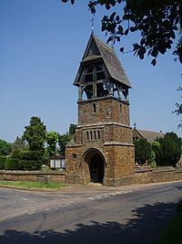 Bell tower, Great Bourton - geograph.org.uk - 1760464.jpg