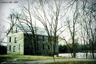 Bellamys Mill United States historic place
