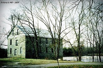 Bellamy's Mill - Image: Bellamy Mill 1859 (2)