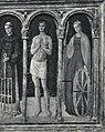 Bellini - San Bernardino da Siena, Sant'Onofrio, Santo Stefano, San Bartolomeo, San Lorenzo, San Sebastiano, Santa Caterina, 61826 gw.jpg