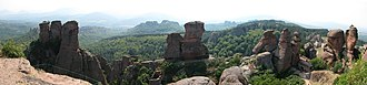 Belogradchik Rocks - Belogradchik Rocks, panoramic view