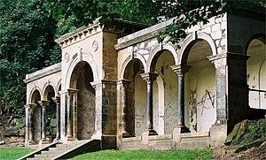 Avenham Park - The Belvedere (in 2007, before renovation)