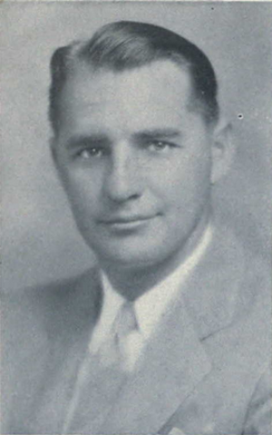 1943–44 Michigan Wolverines men's basketball team - Head coach Bennie Oosterbaan later coached the football team from 1947 to 1957.