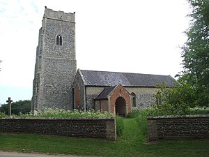 Benacre, Suffolk - Image: Benacre Church 439992