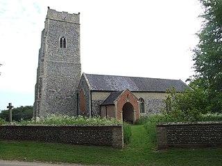 Benacre, Suffolk farm village in the United Kingdom