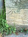 Benchmark on bridge at south end on Iffley Road - geograph.org.uk - 2114327.jpg