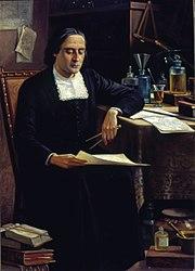 Benedito Calixto: Retrato do Padre Bartolomeu Lourenço de Gusmão