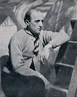 Benito Quinquela Martín - Quinquela Martín in 1933.