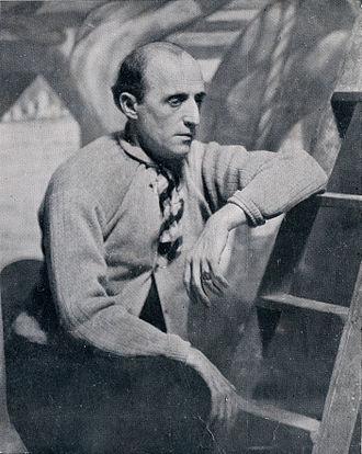 Benito Quinquela Martín - Quinquela Martín in 1933
