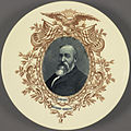 """Benjamin Harrison """"1889-1893"""" Ceramic Portrait Plate (4359477539).jpg"""