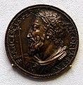 Benvenuto cellini, medaglia di francesco I re di francia, 1537.jpg