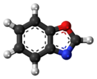 Ball-and-stick molecular model