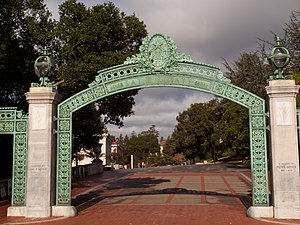Peder Sather - Sather Gate at UC, Berkeley