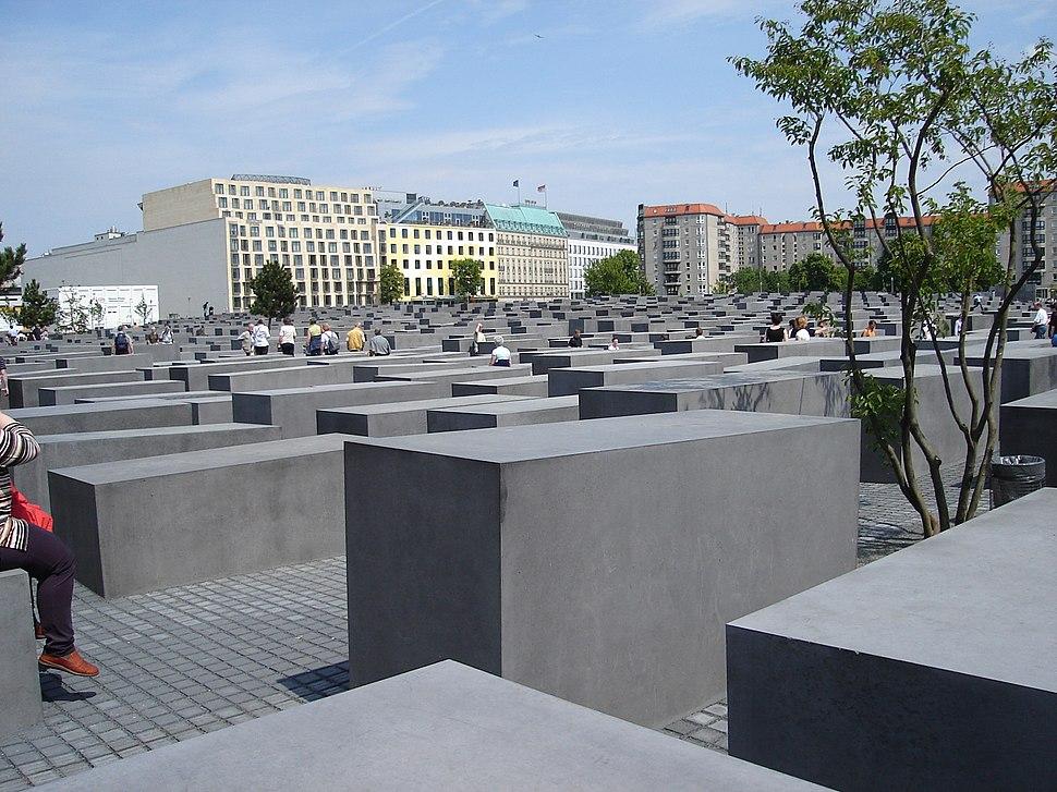 Berlin Holocaust memorial, 21 May 2005