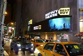 PlayStation Theater events venue in New York City