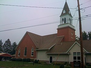 National Register of Historic Places listings in Pine County, Minnesota - Image: Bethlehem Lutheran Church Askov 1