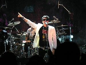 Beto Cuevas - Beto Cuevas performing live in the MTV Video Music Awards Latin America 2003.