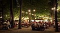 Biergarten at Night Cropped.JPG