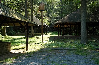 Toboyne Township, Perry County, Pennsylvania - Big Spring State Forest Picnic Area is in Toboyne Township