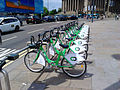 Bike & Go bicycles on Lime Street, Liverpool.jpg