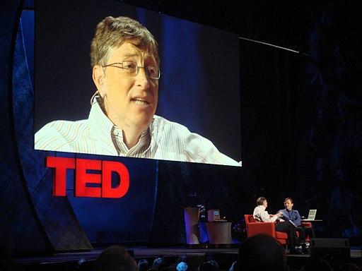 Bill Gates at TED 2009 (3259639559)