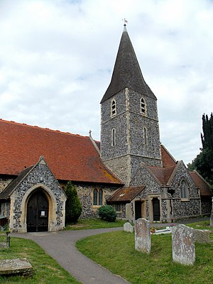 Birchington-on-Sea - All Saints' Church dates to around 1350