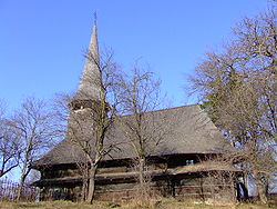 Wooden Church in Domnin