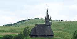 Păniceni wooden church