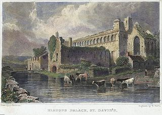 Bishop's Palace, St. David's: Pembrokeshire