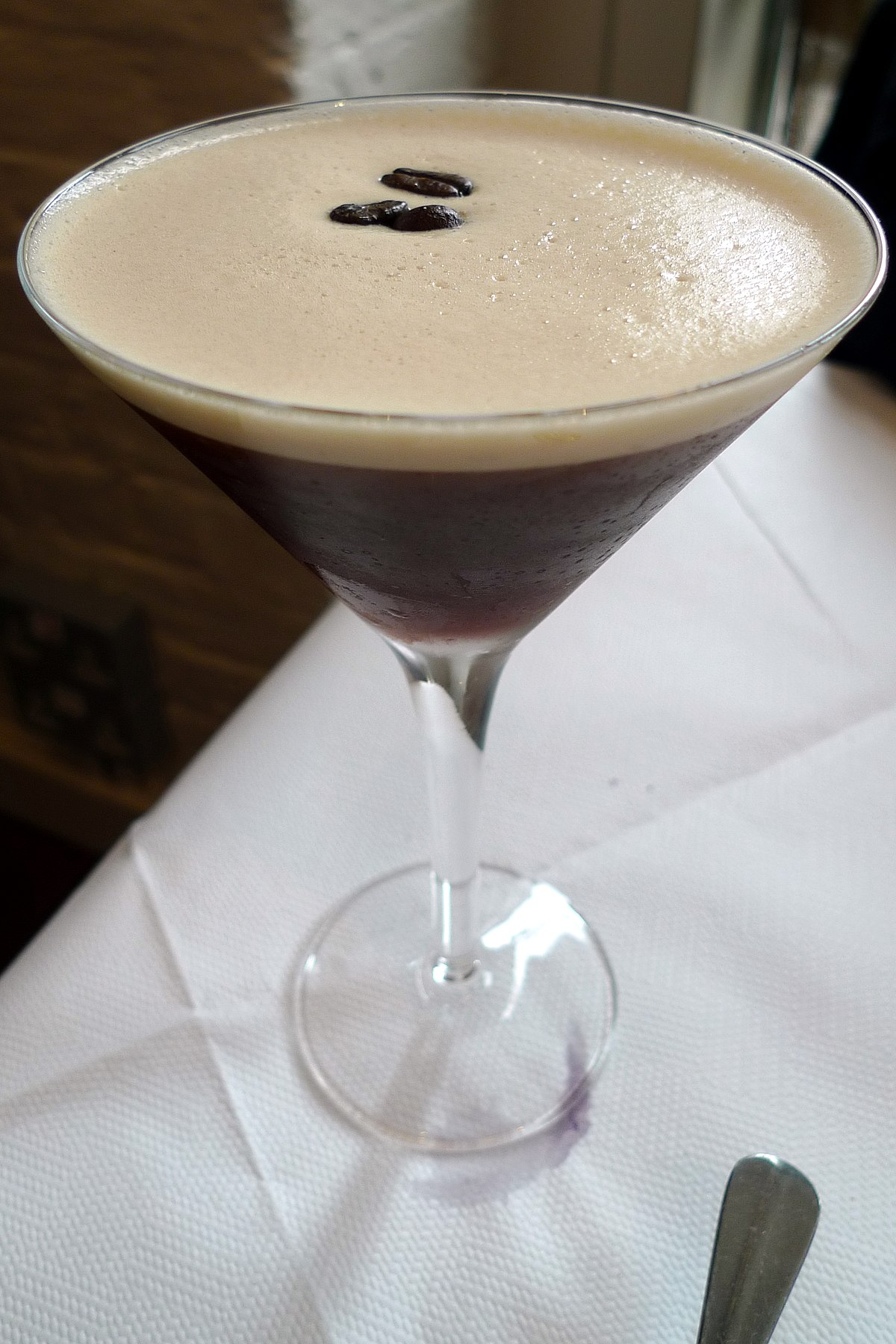 Espresso martini wikipedia for Cocktail martini