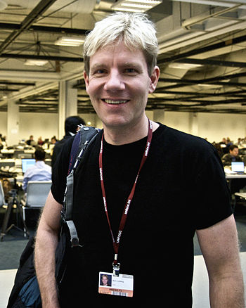 English: Bjørn Lomborg. Danish author, academi...
