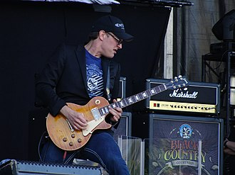 "Joe Bonamassa - Joe Bonamassa playing a ""Burst"" with Black Country Communion 2011"