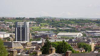 Blackburn - Image: Blackburn Lancashire Townscape