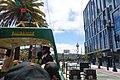 Blackpool streetcar 228 at Market and Buchanan, June 2015.jpg