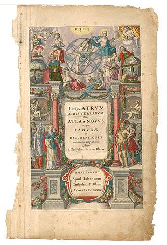 Joan Blaeu - Image: Blaeu 1645 Theatrvm Orbis Terrarum