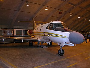 Blue Vixen - Blue Vixen trials aircraft ZF130 owned by Allaero at MOD St Athan 2002