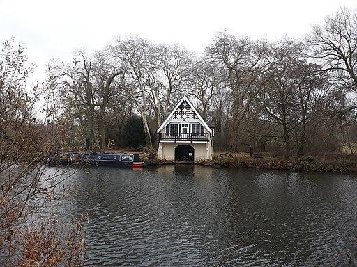 Boathouse on the River Thames, Nuneham Courtenay