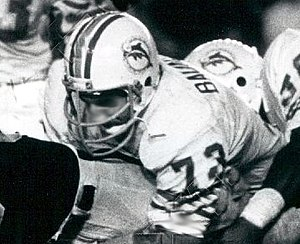 Bob Baumhower - Baumhower playing for the Dolphins in 1979