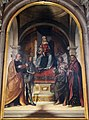 Boccaccio boccaccino, madonna in trono e quattro santi 02.JPG