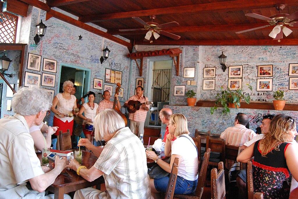 La Bodeguita del Medio en La Habana
