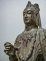Bodhisattva Northern Qi Dynasty (550-577 CE) Hebei Province China Penn Museum 04.jpg