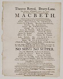 """Wiederaufnahme von No Song, No Supper mit Storaces Schwester Nancy als """"Margaretta"""" (1795) (Quelle: Wikimedia)"""