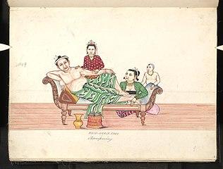 Hnin-hnait-thee. Shampooing (I)