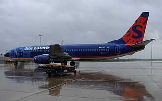 La Crosse Regional Airport - A Sun Country Airlines Boeing 737-800