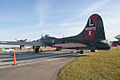 Boeing B-17G-95-DL Flying Fortress Texas Raiders 44-83872 N7227C LSideRear Dawn SNF 04April2014 (14563291316).jpg