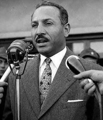 Vice-President of Egypt - Image: Boghdadi, 1958