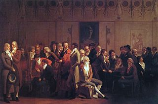 <i>Artists in Isabeys Studio</i> painting by Louis Léopold Boilly